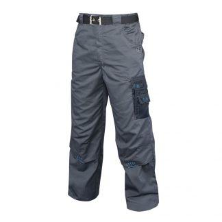Delovne hlače 4TECH sivo-črne