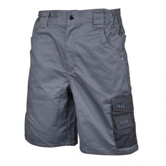 Delovne bermuda hlače 4TECH sivo-črne