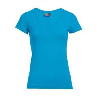 Majica T-shirt V-izrez Ženska 3086