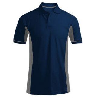 Polo majica CoolDry dvobarvna modra/siva