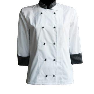 Ženska srajca ADRIATIC chef bela
