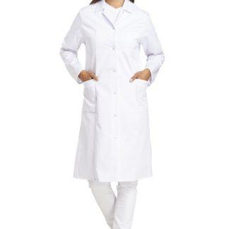 Leiber delovna halja ženska 491 bela