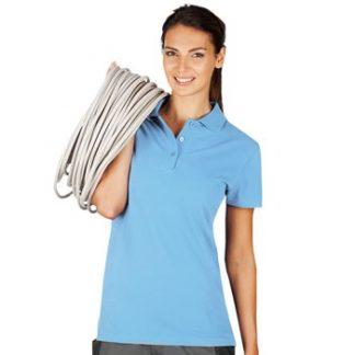 Ženska polo majica kratek rokav svetlo modra