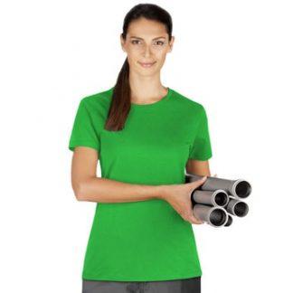 Ženska majica kratek rokav svetlo zelena