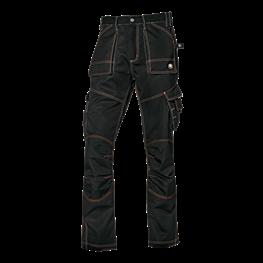 Gemini delovne hlače črne