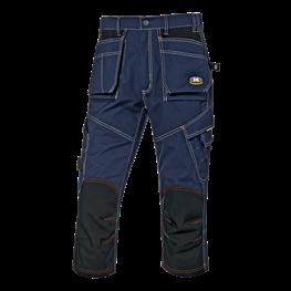 Fighter delovne bermuda hlače modre