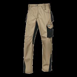 Fusion delovne hlače kaki/črna