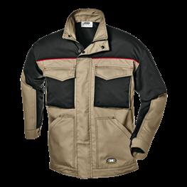 Fusion delovna jakna kratka kaki/črna